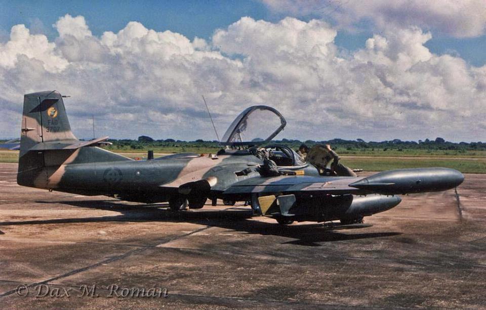 Cessna A-37B Dragonfly  : dragón de Latinoamérica