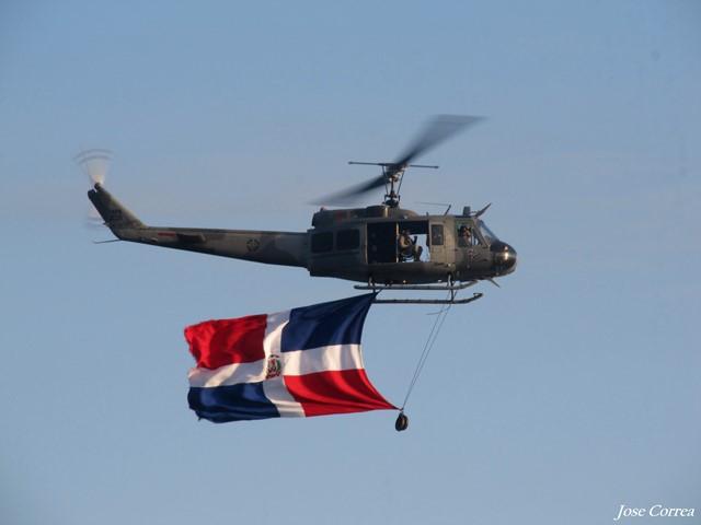 Bell UH-1H Huey: la leyenda en los cielos dominicanos