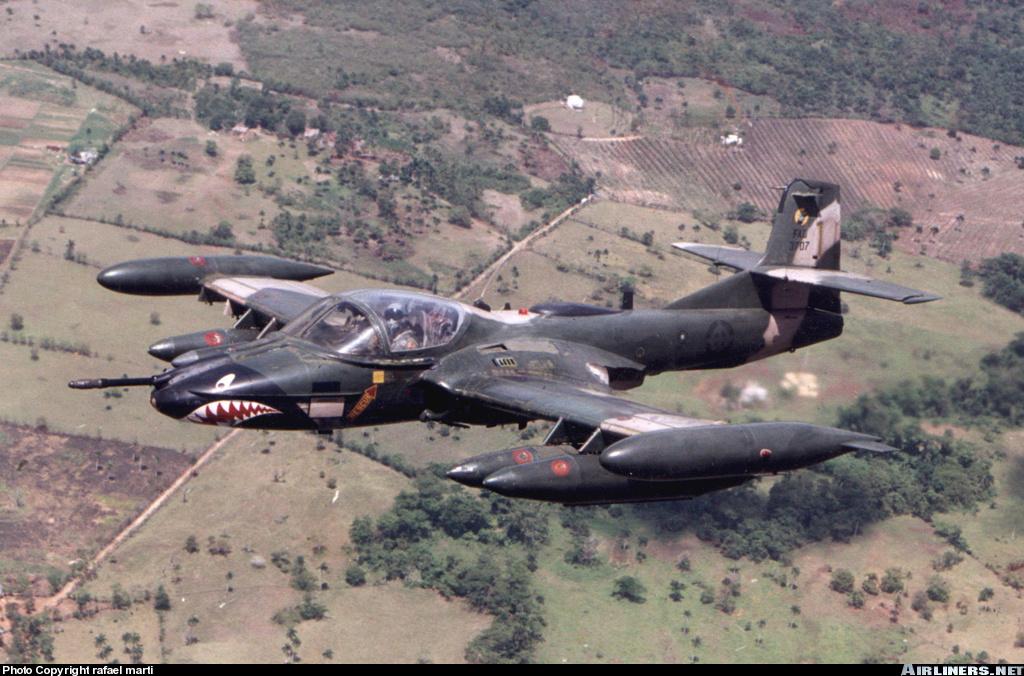 Dragones en cielos dominicanos: historia del Cessna A-37B en RD