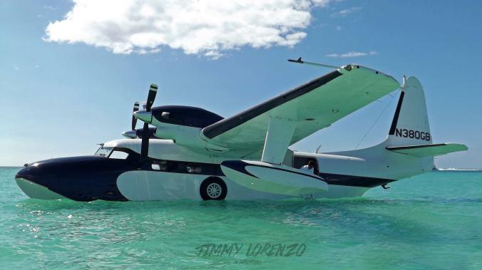 Conoce el hidroavión Grumman Mallard, único en Republica Dominicana