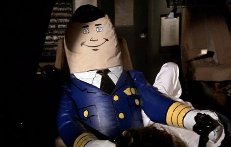 En la aviación también sabemos de humor