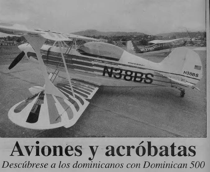 Un espectáculo aéreo caído en el olvido, el Dominican 500 (2da parte).