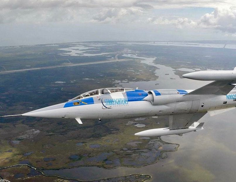 Latin Starfighter: volando a bordo del legendario F-104