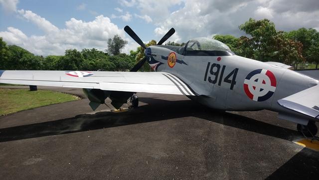 ¿Sabías que el único P-51 Mustang en RD participó en la Segunda Guerra Mundial?