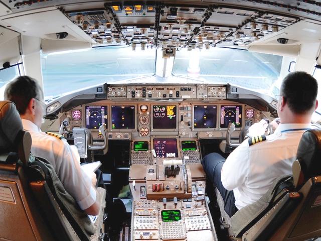 Con estos datos las aerolíneas entrenan a sus pilotos