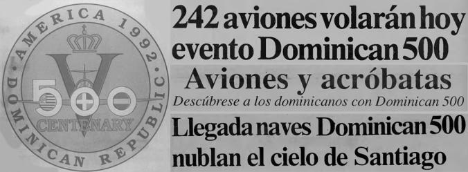 Un espectáculo aéreo caído en el olvido, el Dominican 500 (1ra parte)