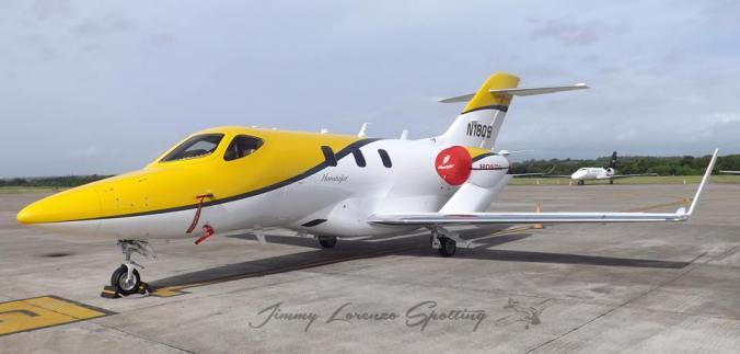 El HondaJet se presenta en República Dominicana