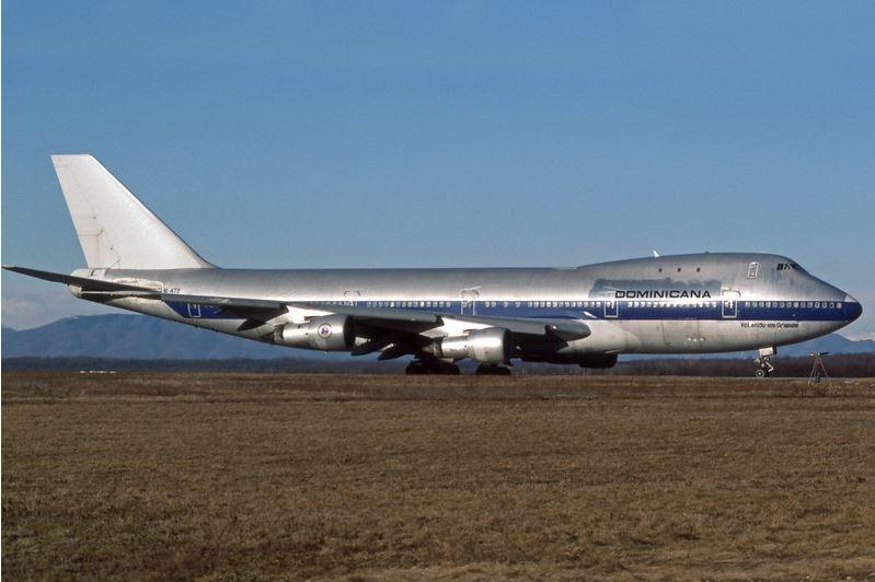 La corta historia del famoso Boeing 747 en Dominicana de Aviación