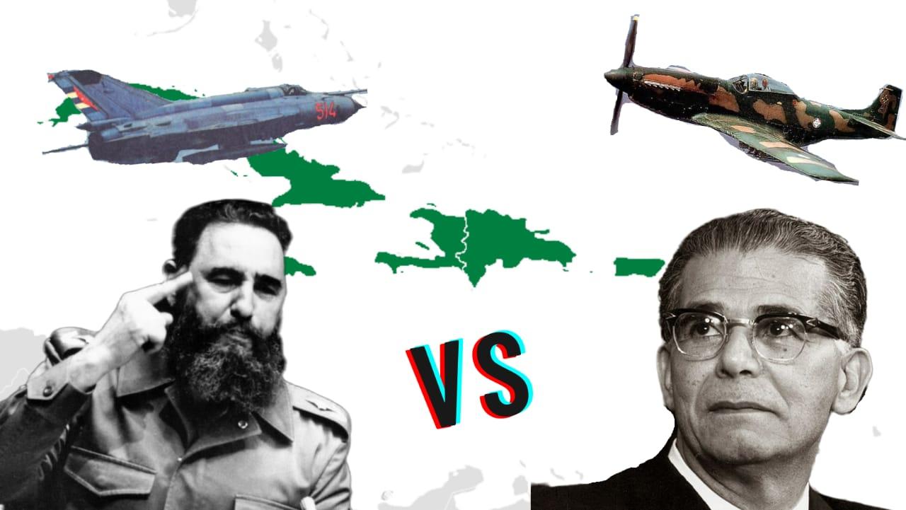 El día que Fidel Castro casi bombardea a República Dominicana