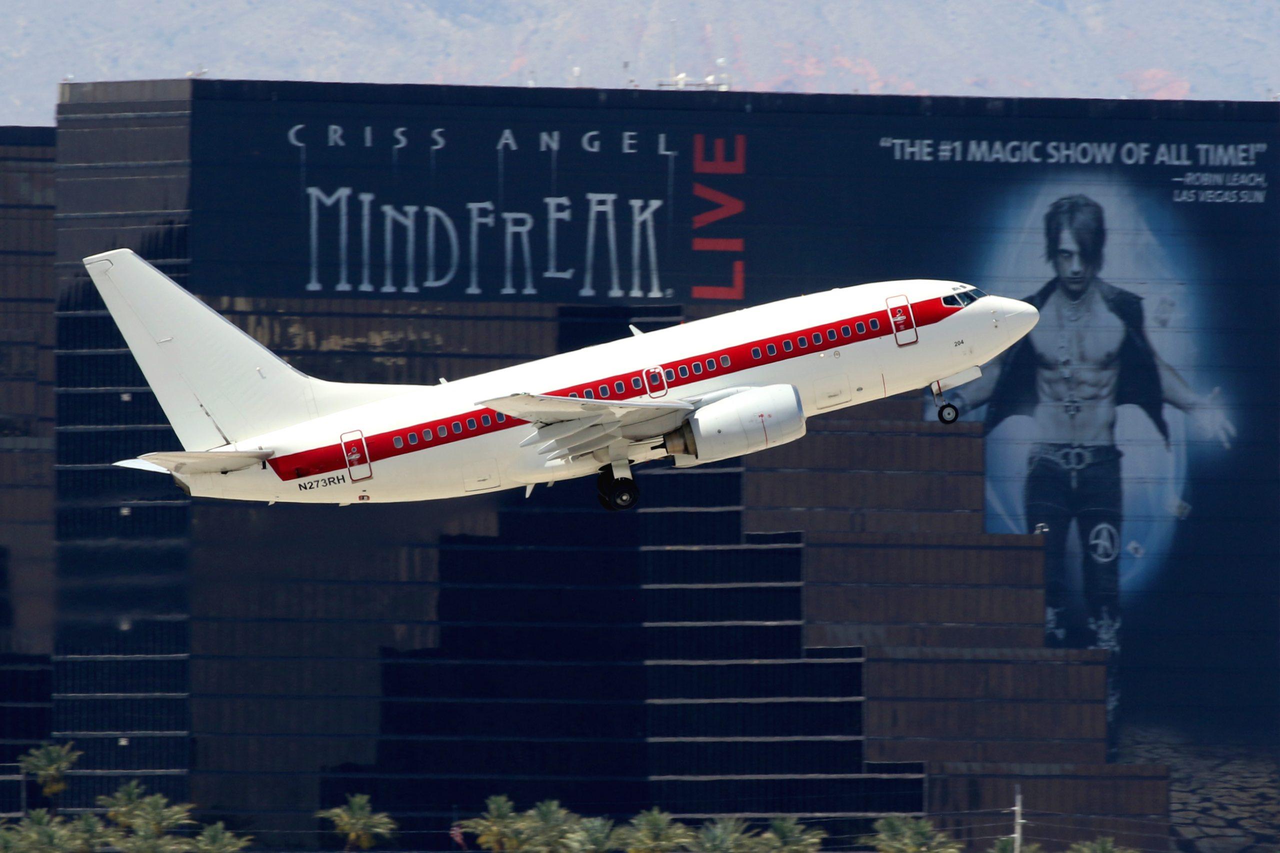 Janet: la aerolínea que vuela a la misteriosa Área 51