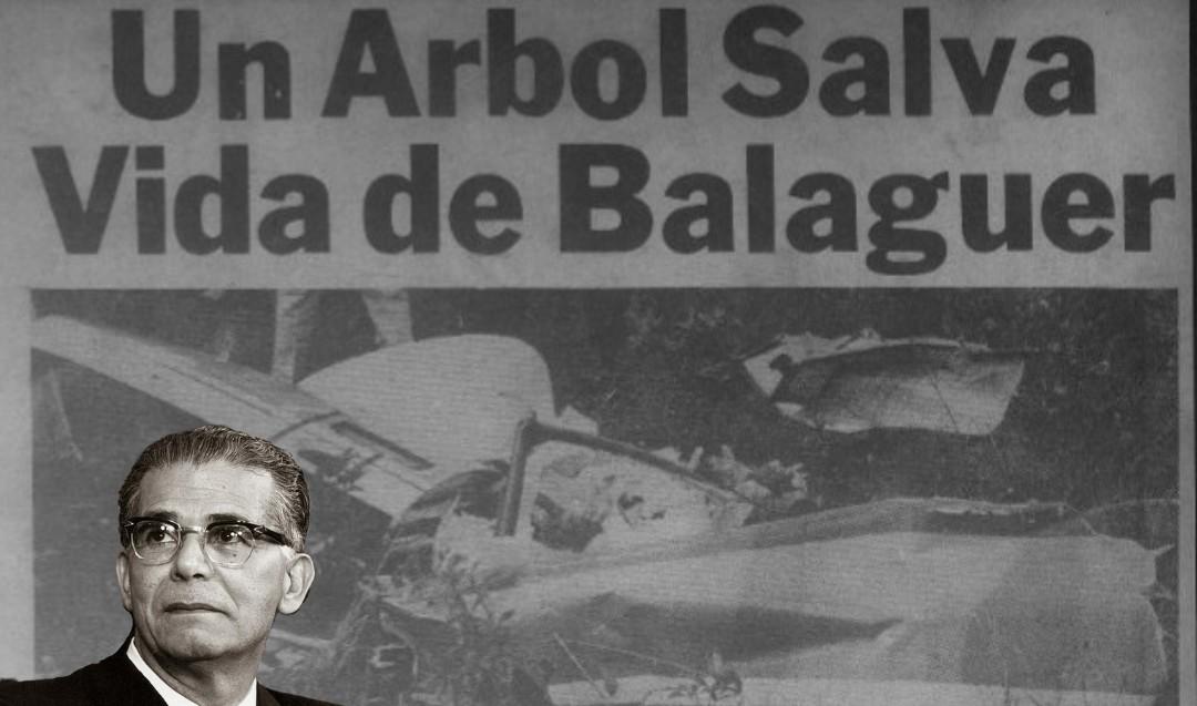 Aquella noche cuando Joaquín Balaguer casi muere en un helicóptero
